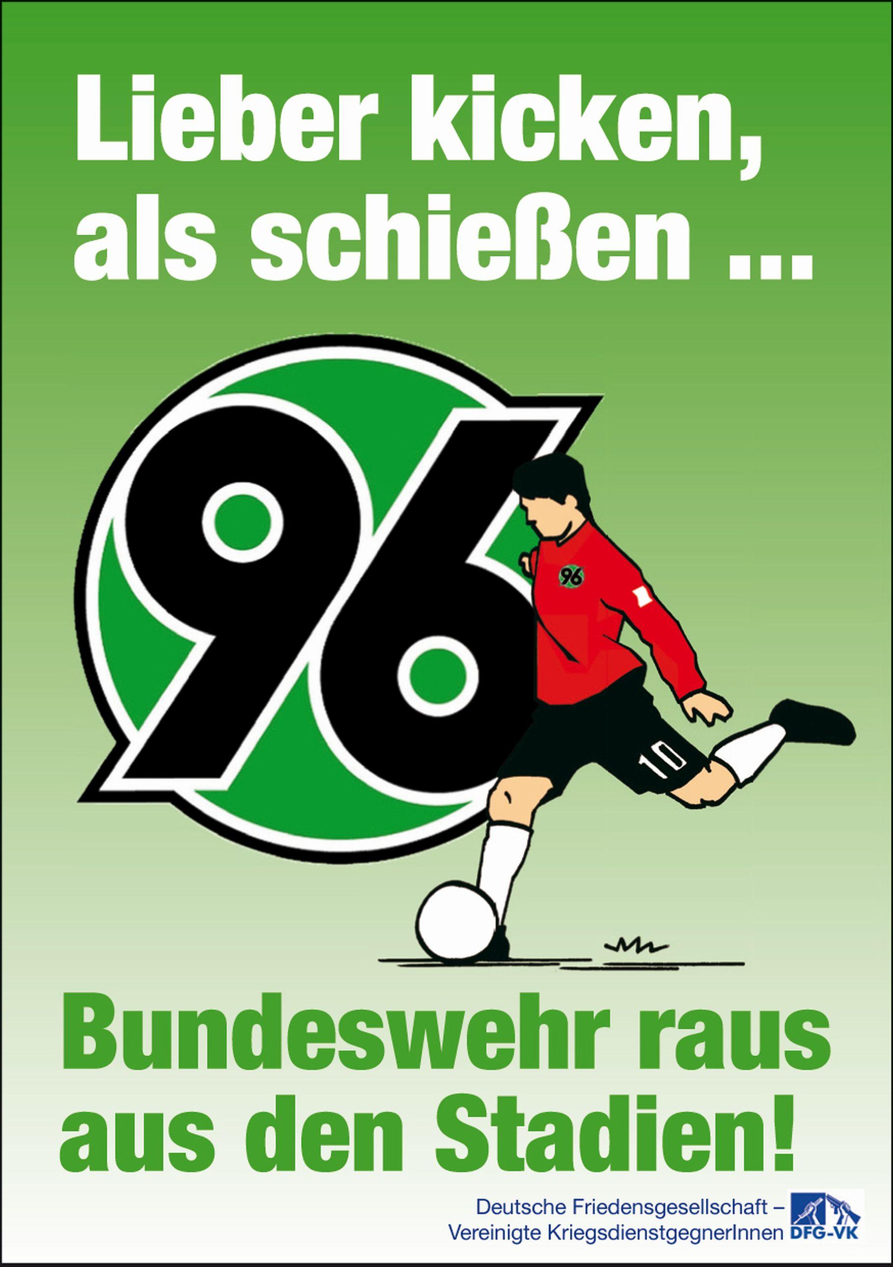 Bundeswehr in Stadien – Hannover 96 und das Militär