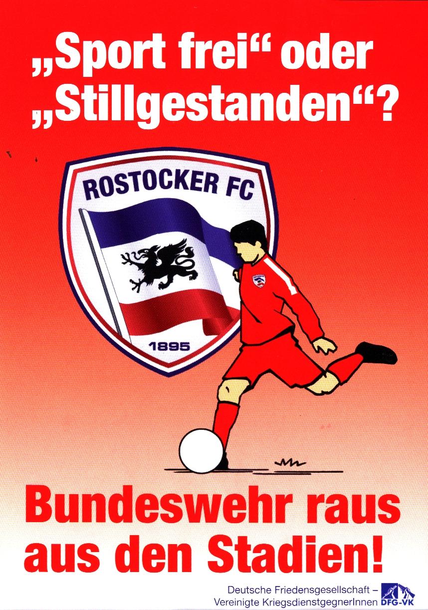 (K)ein Besonderer Tag beim Rostocker FC – Enge Sportkooperation mit der Bundeswehr mit umfassenden Folgen