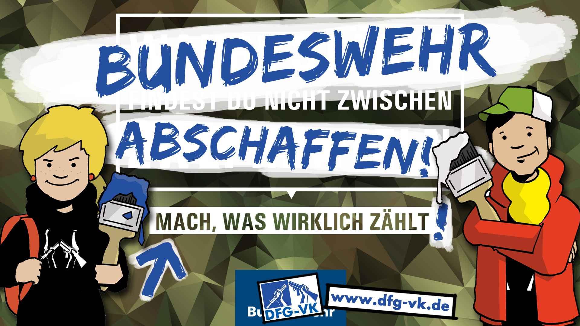 Hallo Bundeswehr – ein Tipp zum 60.! Lös dich einfach auf.