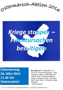 Ostermarsch 2016 in Hannover