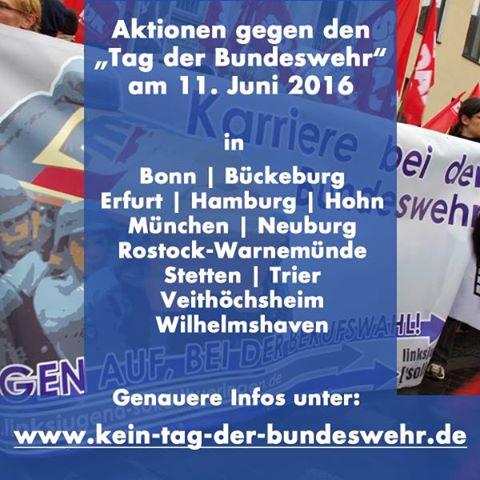 kein Tag der Bundeswehr in Bückeburg und anderswo