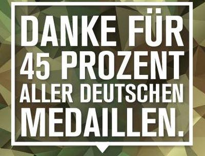 Der kreative Umgang der Bundeswehr mit der Statistik – von wegen erfolgreich bei Olympia