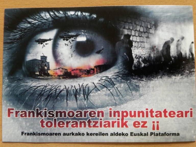 Gernika Tag 4(1) Comisión de Bombardero – die Zeit des Schweigens durchbrechen