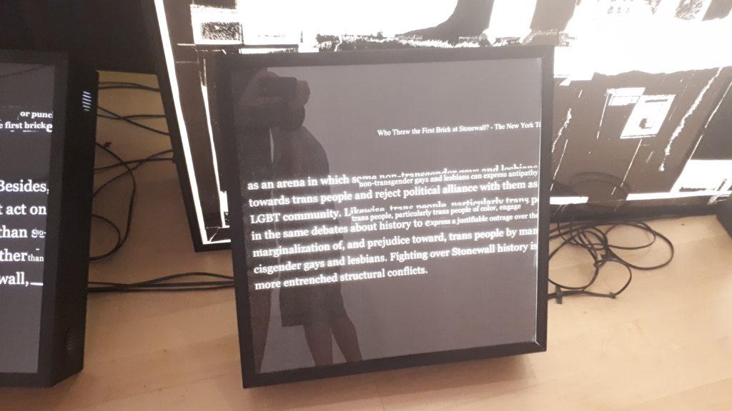 Installation aus der aktuellen Ausstellung im Brooklyn Museum.